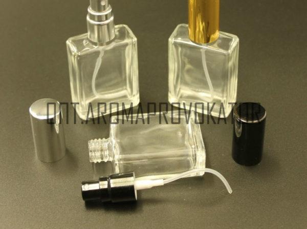 Флакон для духов стекло со спреем 15 ml