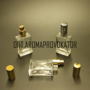 Флаконы для духов 50 ml спрей люкс металл
