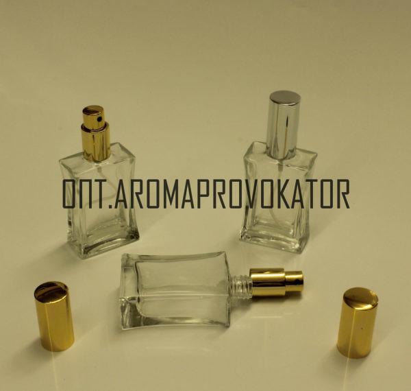 Флаконы для духов 30 ml спрей металл