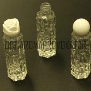 Стеклянные флаконы для духов 10 ml с крышкой