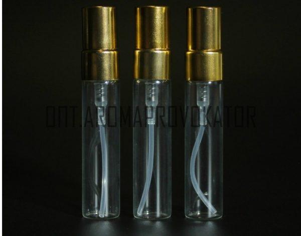 Флаконы для духов стекло, спрей металл 5 ml