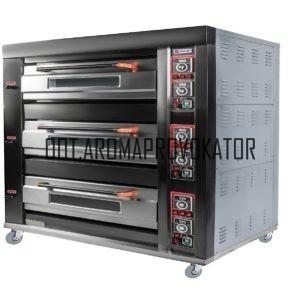 Печь подовая ярусная Miratek BK-39E (электрическая)